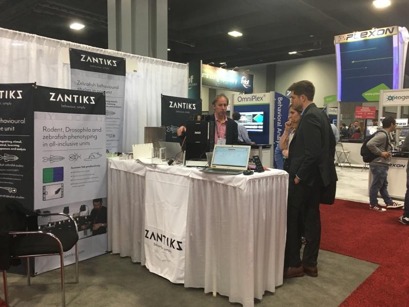 Zantiks at SfN2017 in Washington